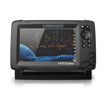 LOWRANCE HOOK REVEAL 7 TRIPLESHOT, CHIRP + DOWNSCAN™ + SIDESCAN™