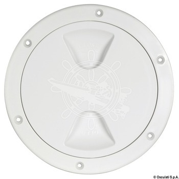 Foto - INSPECTION COVER, 102 x 147 mm, WHITE