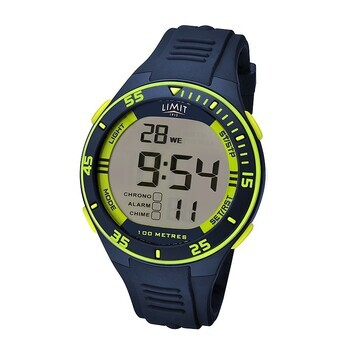 Foto - WATCH- LIMIT DIGITAL, LIME/NAVY