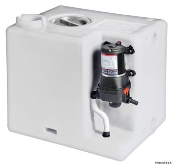 FRESH WATER TANK WITH PUMP KIT, 56 L