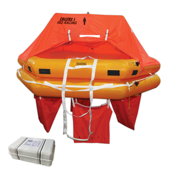 Foto - LIFERAFT FOR 12 PERSONS, ISO RACING, CONTAINER