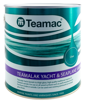 LAKK- TEAMALAK YACHT AND SEAPLANE VARNISH, 2,5 l