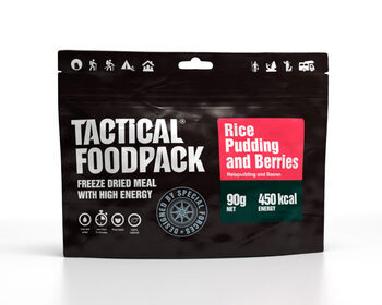 Foto - TACTICAL FOODPACK- RICE PUDDING AND BERRIES, BREAKFAST