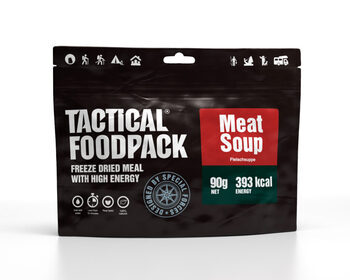 Foto - TACTICAL FOODPACK- MEAT SOUP