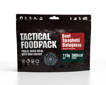 Foto - TACTICAL FOODPACK- SPAGHETTI BOLOGNESE