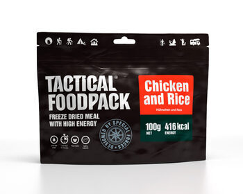 Foto - TACTICAL FOODPACK- CHICKEN AND RICE