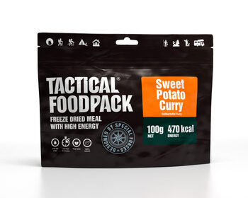 Foto - TACTICAL FOODPACK- SWEEET POTATO CURRY (VEGAN)