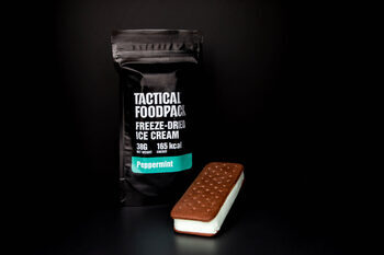 TACTICAL FOODPACK- FREEXE-DRIED PEPPERMINT ICECREAM