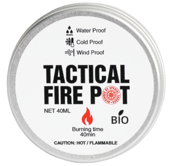 Foto - TACTICAL FOODPACK- TACTICAL FIRE POT