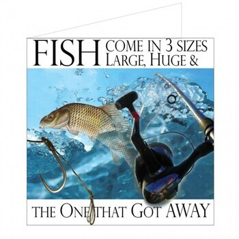 Foto - NAUTICAL GREETING CARD- FISH COME IN..