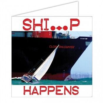 Foto - MERETEEMALINE POSTKAART- SHIP HAPPENS