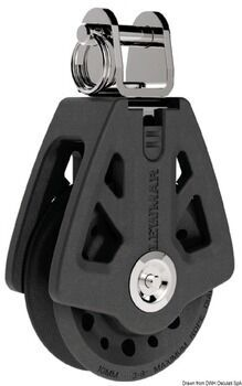 Foto - SINGLE BLOCK WITH TOGGLE HEAD, 8-10 mm, LEWMAR SYNCHRO