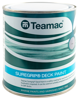 Foto - ANTI-SLIP PAINT- TEAMAC SUREGRIP, GREY, 1 l
