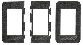 Foto - LÜLITI KINNITUSRAAM, 34 x 58 mm